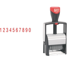 The 2000 Plus 2010 10 Band Number Stamp makes the repetitive task of numbering things quick and easy. Free Shipping! No sales tax - ever!