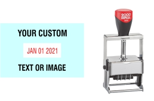 Order Now! The 2000 Plus Expert Line 3660 Self-Inking Date Stamp is heavy-duty and perfect for your fast, repetitive stamping. Free Shipping. No Sales Tax - Ever!