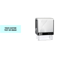 Leave your mark in small spaces with the 2000 Plus Printer 10 self-inking stamp from Stamp-Connection. No sales tax ever.