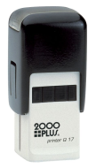 2000 Plus Q17 self-inking stamps made daily online. Free same day shipping. Excellent customer service. No sales tax - ever.