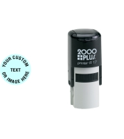 Order Now! 2000 Plus Printer R17 Round Self-Inking Stamp. 5/8 inch diameter impression. Free Shipping! No Sales Tax - Ever!