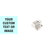 1 x 1 Acrylic See-Thru Stamps Made Daily Online! Free same day shipping. Excellent customer service. No sales tax - ever.