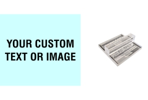 2 x 2.25 Acrylic See-Thru Stamps Made Daily Online! Free same day shipping. Excellent customer service. No sales tax - ever.