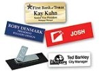 "Custom Name Tag 3/4""x3"" Made daily Online! Free same day shipping. No sales tax - ever."