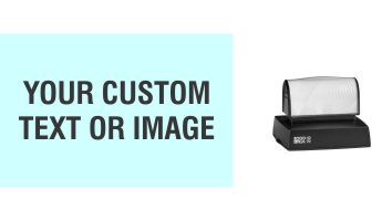 The X-Large HD 112 Stamp is the perfect size for your larger sized stamp needs. Free same day shipping. Excellent customer service. No sales tax - ever.