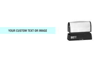 Order the HD 12 Stamp when you only need a single line of text on your custom stamp. Free same day shipping. Excellent customer service. No sales tax - ever.