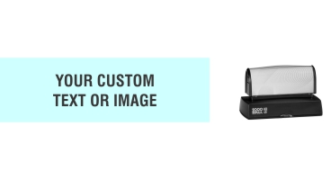 The HD 45 Stamp is the perfect size for your extra wide stamp needs. Free same day shipping. Excellent customer service. No sales tax - ever.