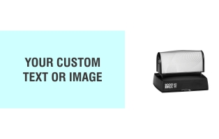 The HD 55 Stamp is the perfect size for your larger sized stamp needs. Free same day shipping. Excellent customer service. No sales tax - ever.