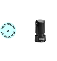 Order the Round HD R17 Stamp when you only have a small area you can stamp on. Free same day shipping. Excellent customer service. No sales tax - ever.