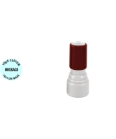 """Order Now! MyStamp IS-30 7/16"""" Round Inspector Stamp. Customize up to 2 lines of text or submit your artwork. Available in 11 colors. Free Shipping! No Sales Tax - Ever!"""