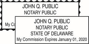 Delaware Notary Seals