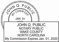 North Carolina Notary Seals