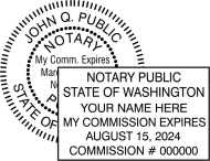 Washington Notary Seals