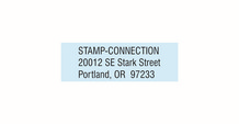 Compact Address Stamp