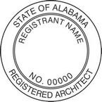 Alabama Registered Architect Seals