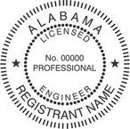 Alabama Professional Engineer Seals