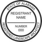 Alabama Registered Landscape Architect Seals