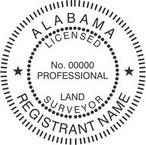 Alabama Licensed Land Surveyor Seals