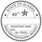 Alaska Registered Professional Architect Seals