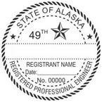Alaska Registered Professional Engineer Seals