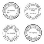 California Professional Seals