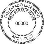 Colorado Licensed Architect Seals