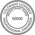Colorado Licensed Professional Engineer Seals