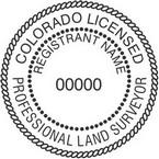 Colorado Licensed Professional Land Surveyor Seals