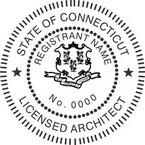 Connecticut Licensed Architect Seals