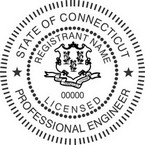 Connecticut Licensed Professional Engineer Seals