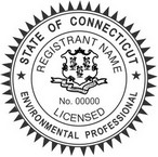 Connecticut Licensed Environmental Professional Seals