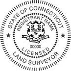 Connecticut Licensed Land Surveyor Seals