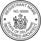 Delaware Registered Architect Seals