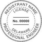 Delaware Professional Engineer Seals