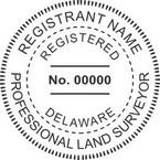 Delaware Professional Land Surveyor Seals