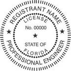 Florida Professional Engineer Seals