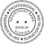 Florida Professional Engineer and Surveyor Seals