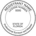 Florida Professional Surveyor and Mapper Seals