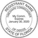 Florida Timeshare Commissioner Seals