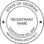 Georgia Registered Architect Seals