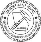 Georgia Registered Professional Geologist Seals