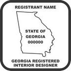 Georgia Registered Interior Designer Seals