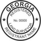 Georgia Registered Land Surveyor Seals