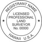 Hawaii Licensed Professional Land Surveyor Seals
