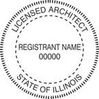 Illinois Licensed Architect Seals
