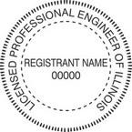 Illinois Licensed Professional Engineer Seals