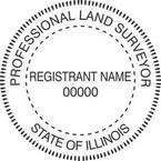 Illinois Professional Land Surveyor Seals