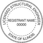 Illinois Licensed Structural Engineer Seals