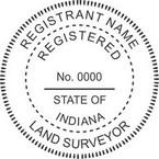 Indiana Registered Land Surveyor Seals