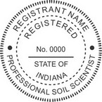 Indiana Registered Professional Soil Scientist Seals
